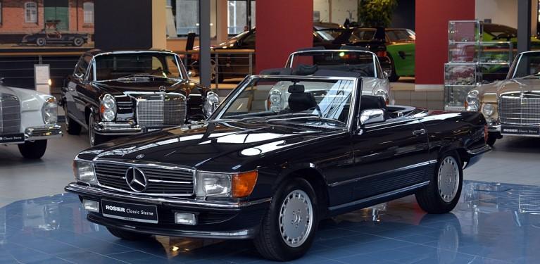 Mercedes-Benz 500 SL R107 - Classic Sterne