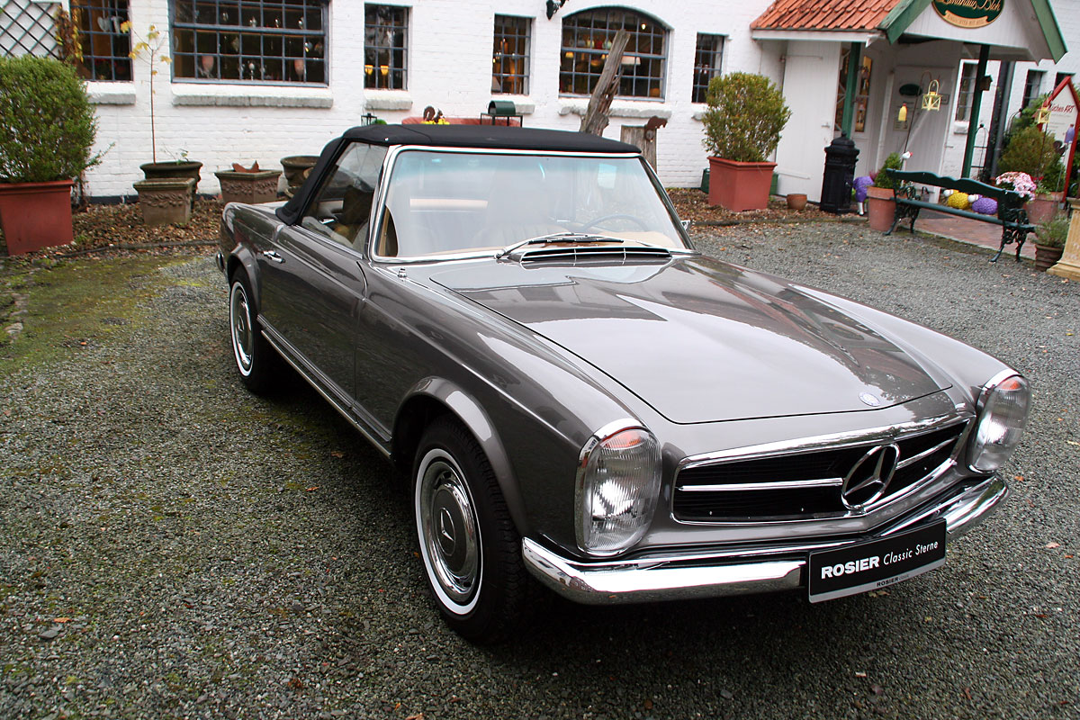 mercedes benz 280 sl pagode w113 classic sterne. Black Bedroom Furniture Sets. Home Design Ideas