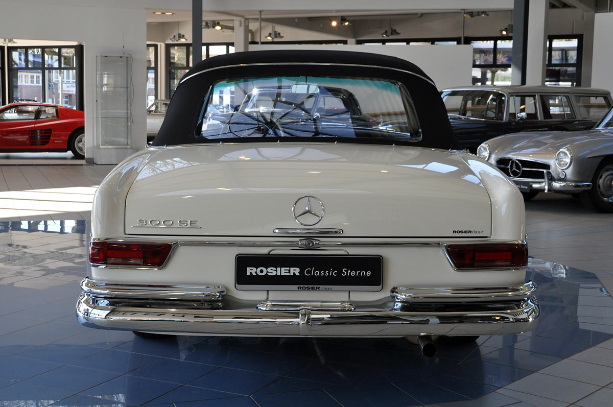 mercedes benz 300 se cabrio w 112 classic sterne. Black Bedroom Furniture Sets. Home Design Ideas