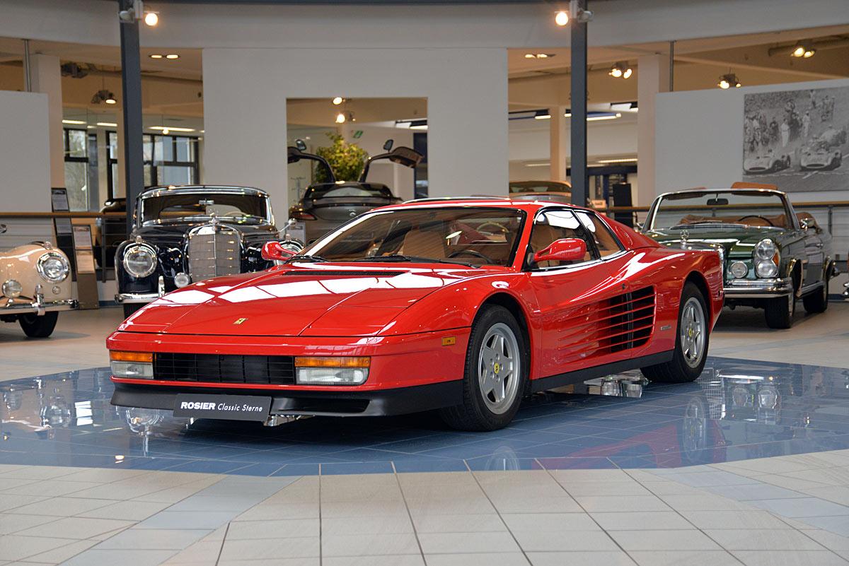 Is  Ferrari Testarossa A Classic Car