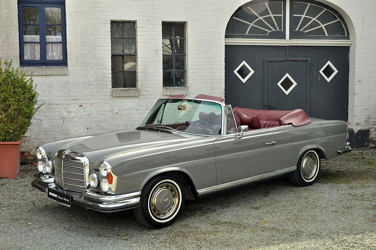 mercedes benz 280 se 3 5 cabrio w 111 classic sterne. Black Bedroom Furniture Sets. Home Design Ideas