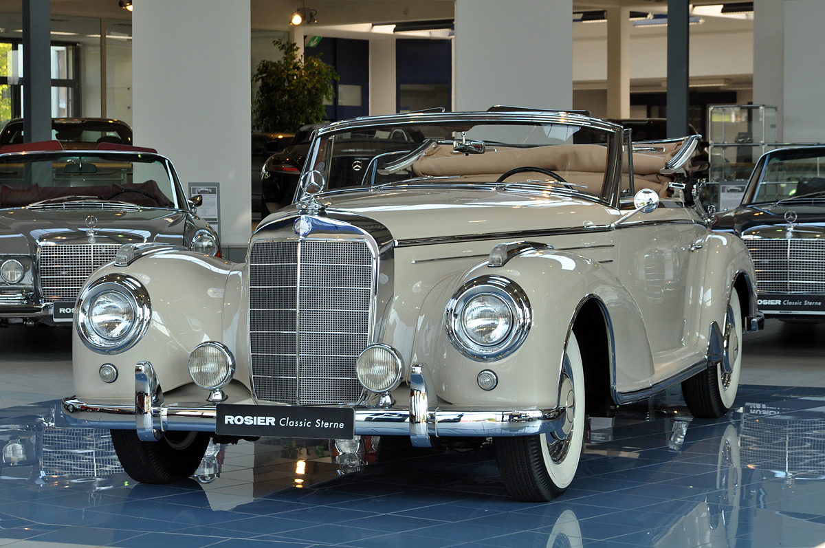 mercedes benz 300 sc cabrio w 188 classic sterne. Black Bedroom Furniture Sets. Home Design Ideas