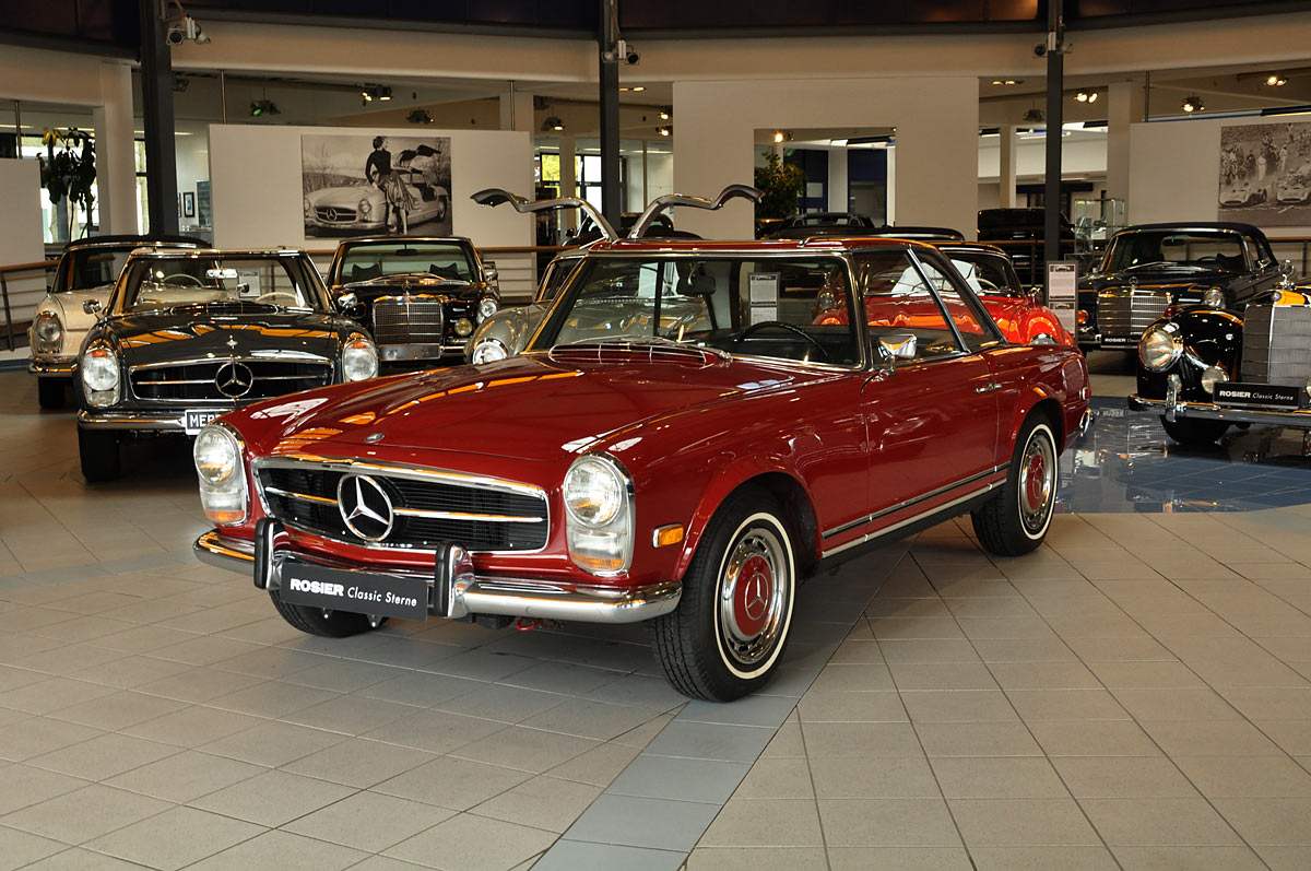 mercedes benz 280 sl w113 pagode classic sterne. Black Bedroom Furniture Sets. Home Design Ideas