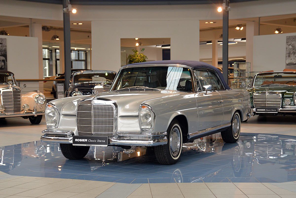mercedes benz 280 se cabrio w 111 classic sterne. Black Bedroom Furniture Sets. Home Design Ideas
