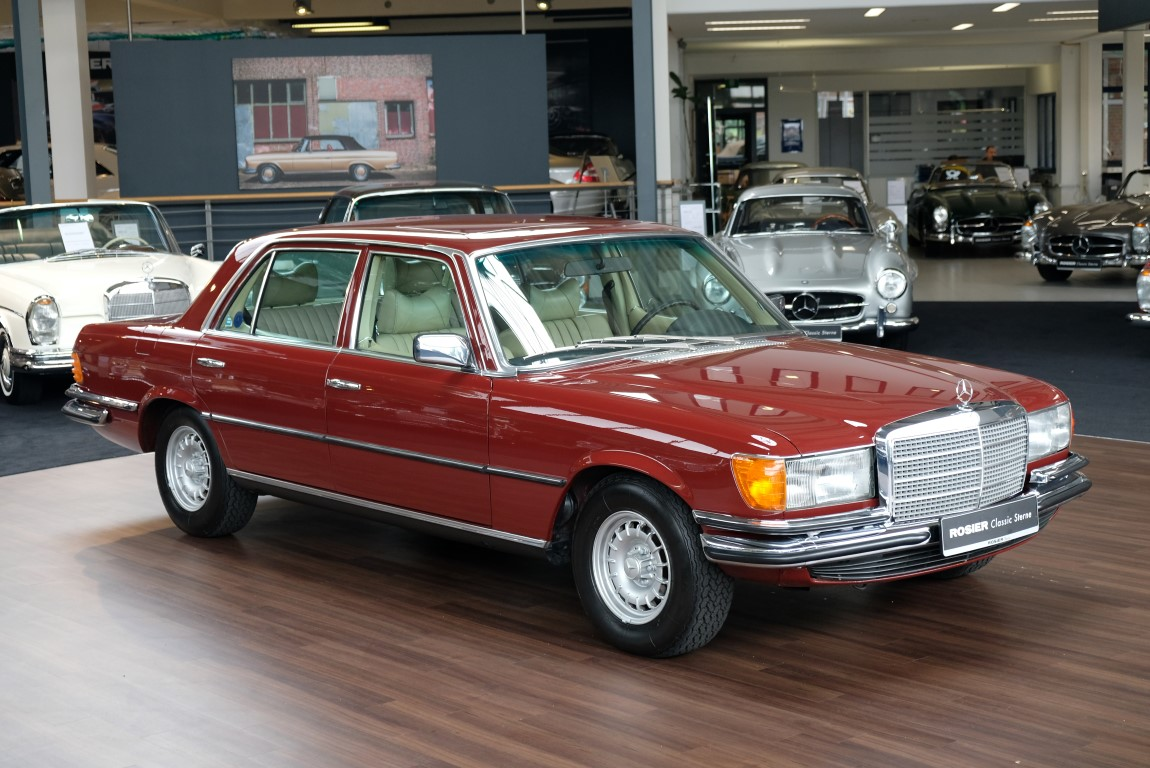 mercedes benz 450 sel 6 9 w116 classic sterne. Black Bedroom Furniture Sets. Home Design Ideas