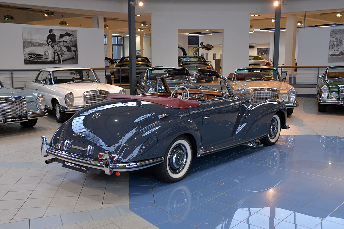 Mercedes benz 300 s roadster w188 classic sterne for Mercedes benz 300 s