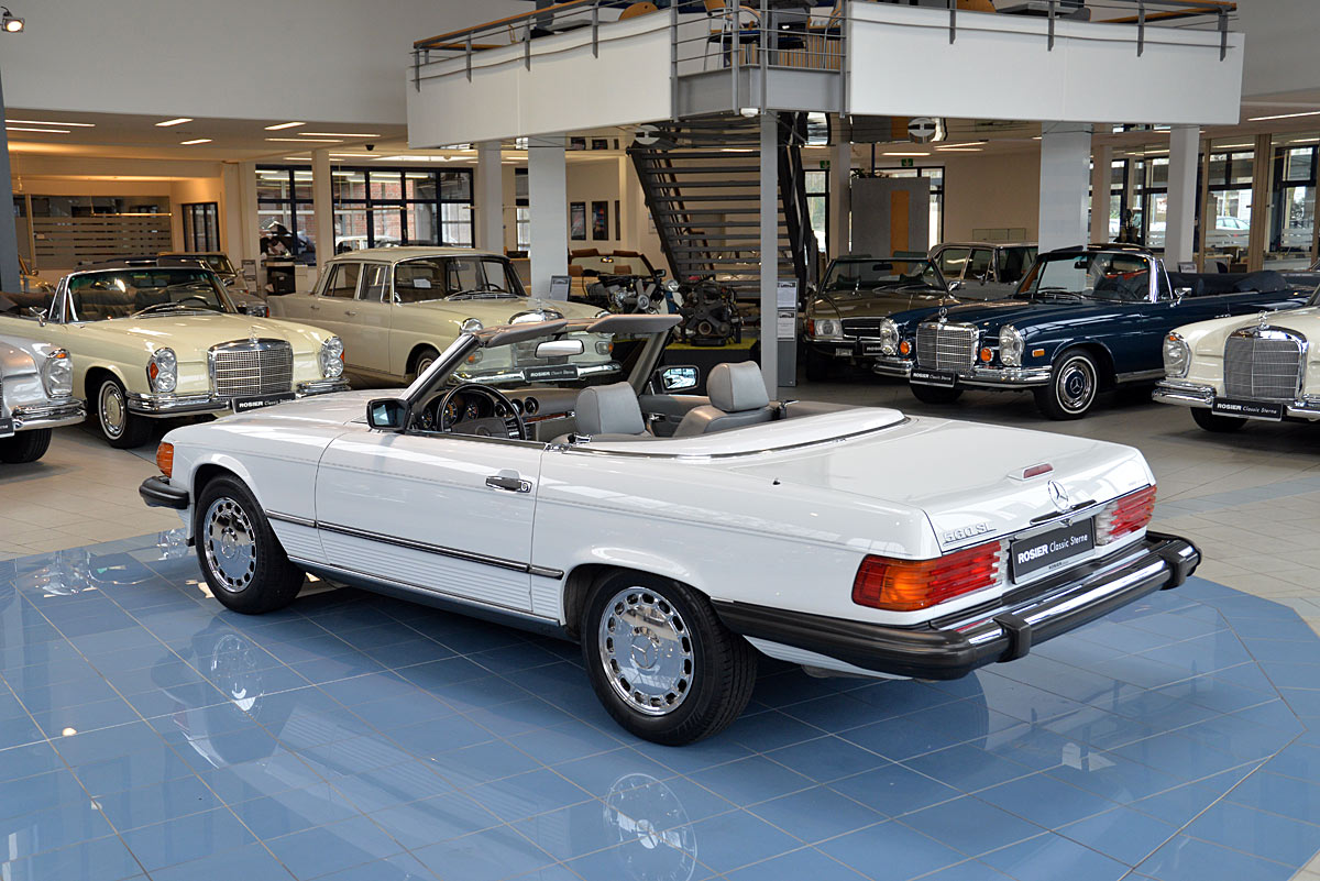 Mercedes benz 560 sl roadster r107 classic sterne for Abs system mercedes benz