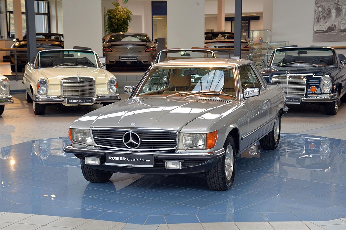 Mercedes benz 450 slc 5 0 c107 classic sterne for Mercedes benz 450 slc