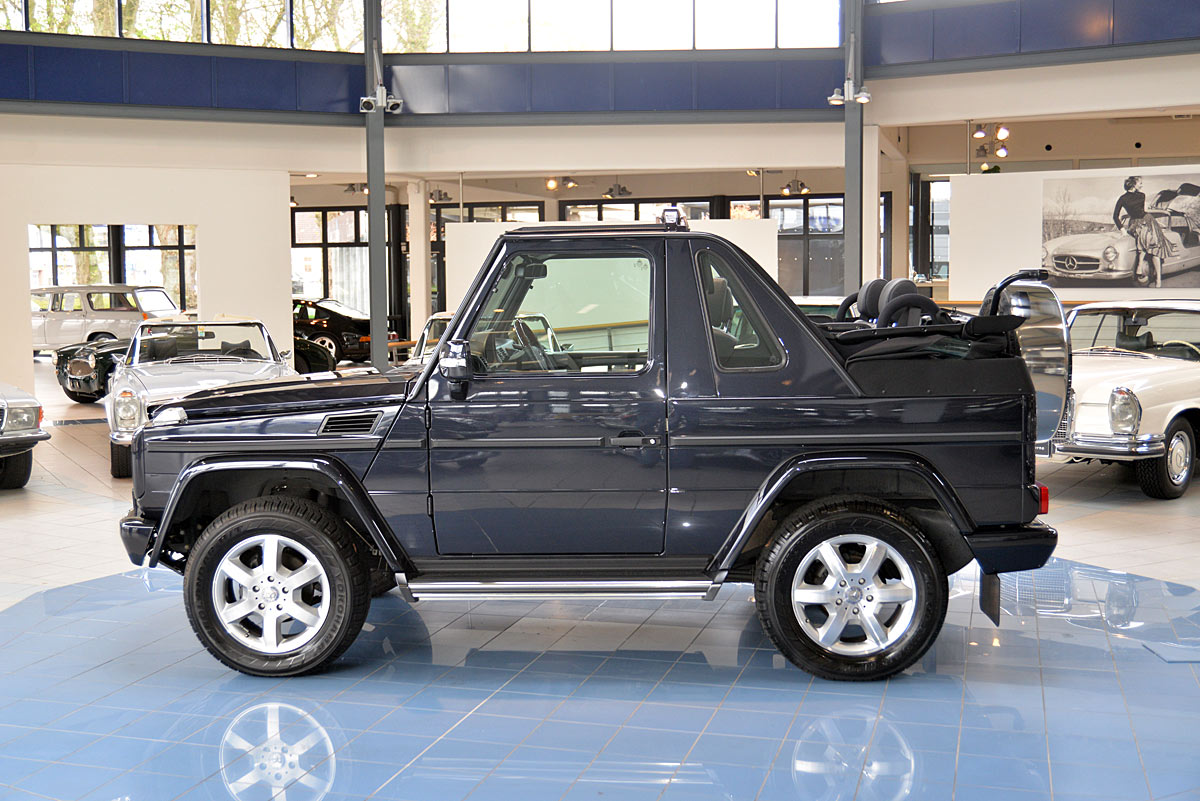 Mercedes benz g 350 cabriolet classic sterne for Mercedes benz g cabriolet