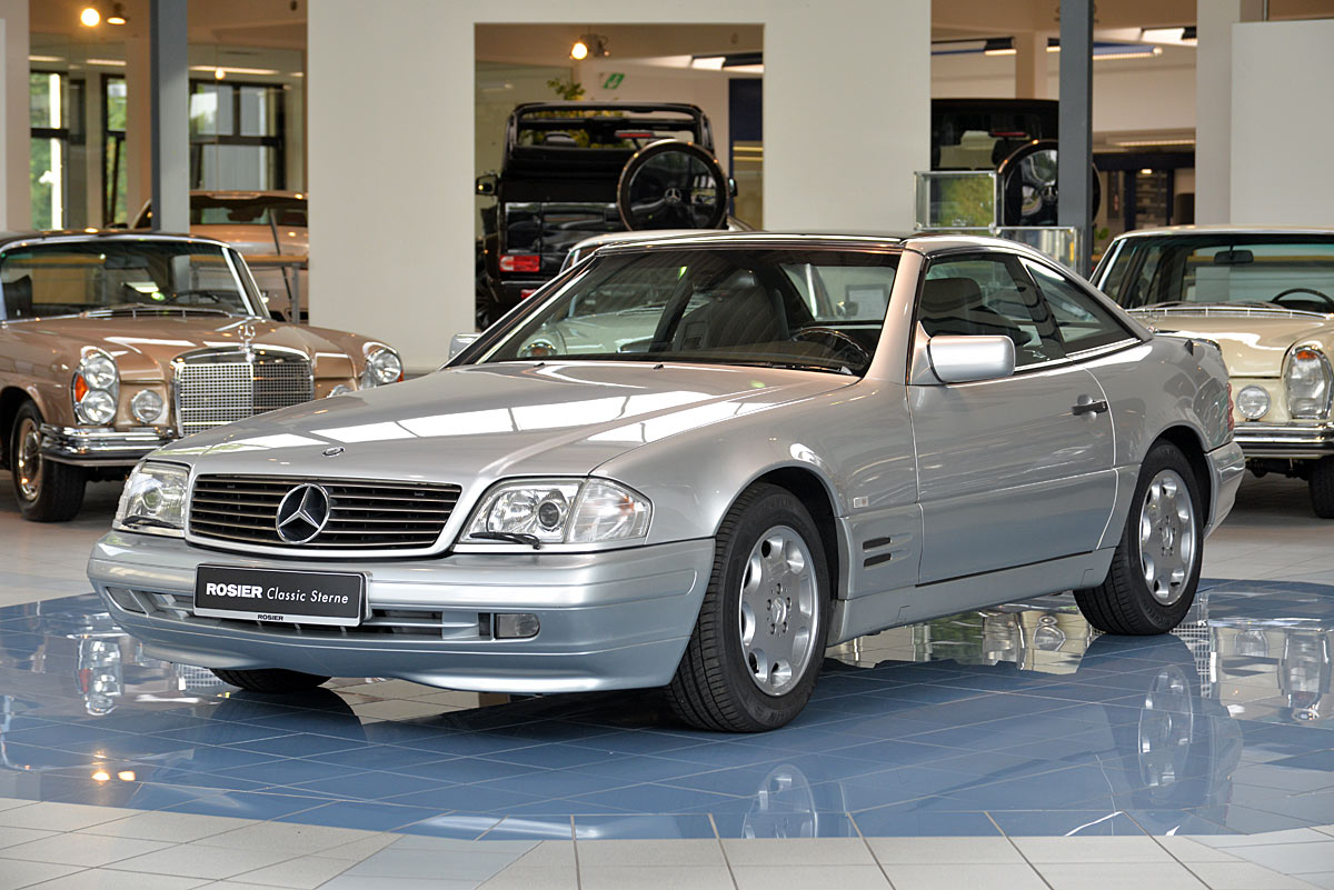 mercedes benz sl 500 r129 classic sterne. Black Bedroom Furniture Sets. Home Design Ideas