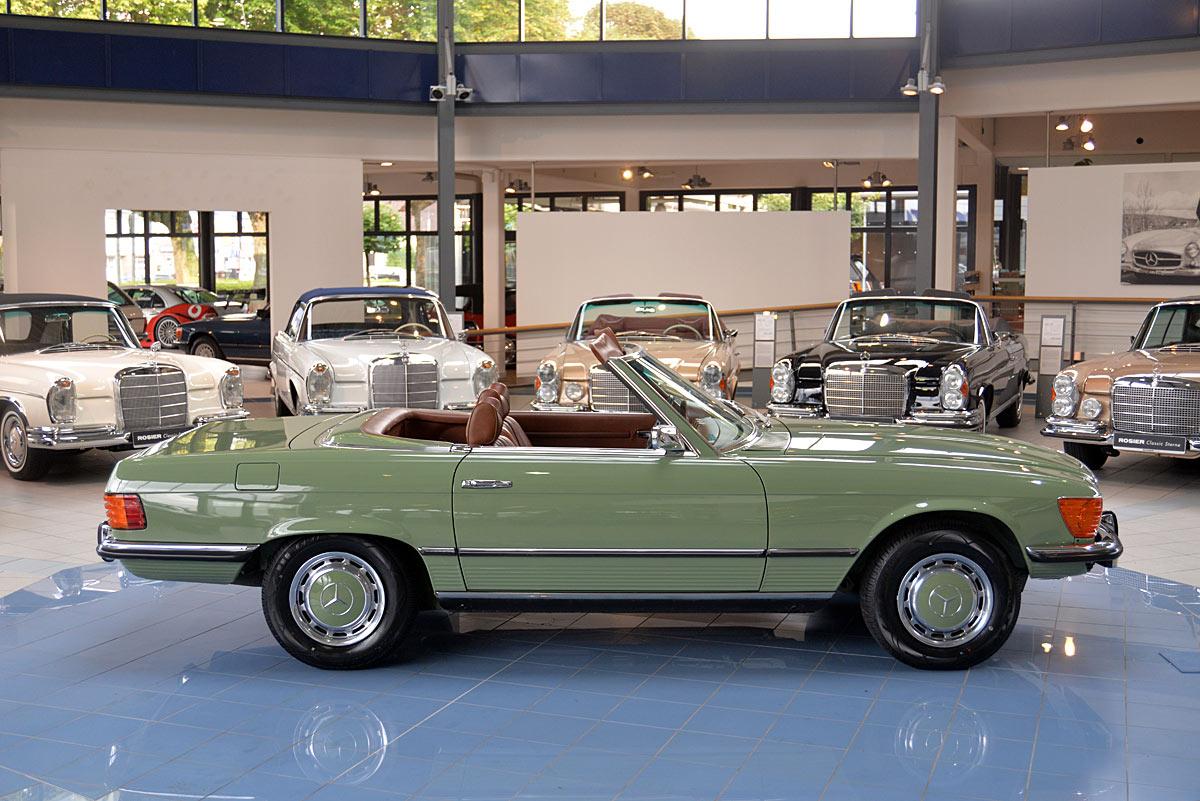 Mercedes benz 450 sl r107 classic sterne for Mercedes benz 450 sl