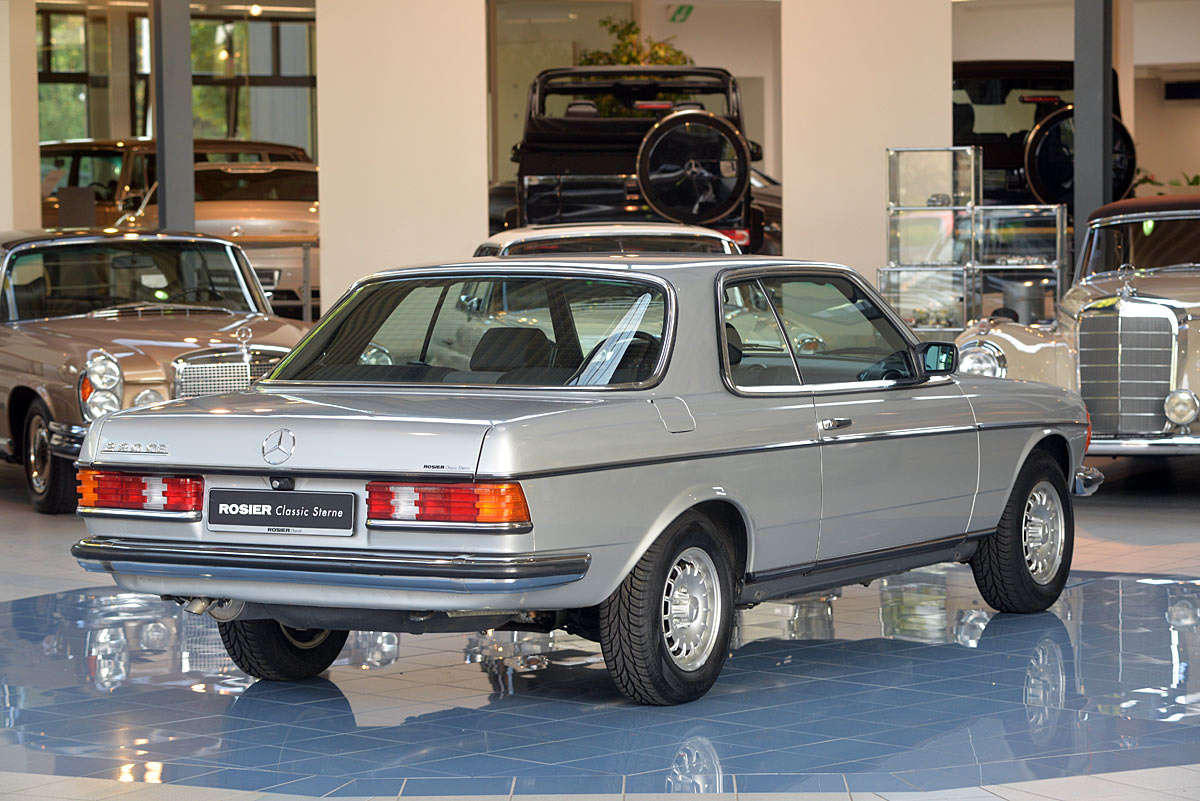 Mercedes benz 230 ce c123 classic sterne for Mercedes benz c123 for sale