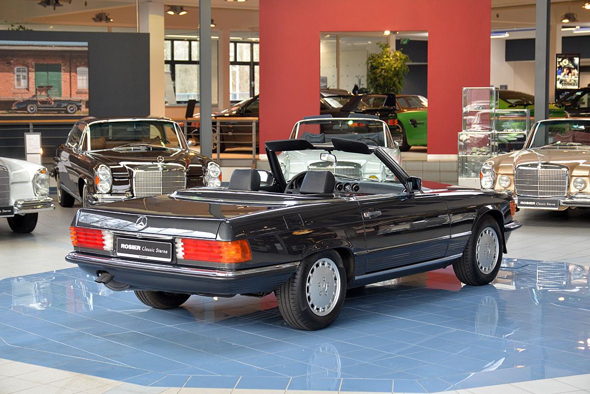 mercedes benz 500 sl r107 classic sterne. Black Bedroom Furniture Sets. Home Design Ideas