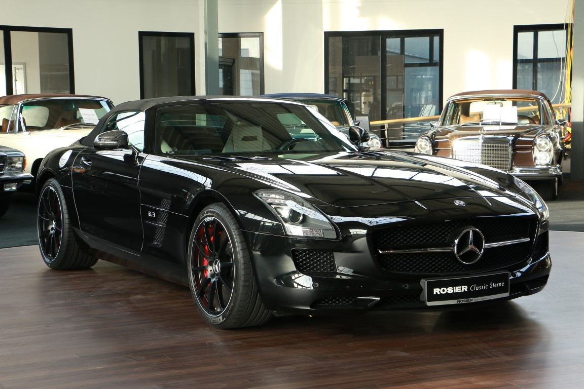 mercedes amg sls gt roadster classic sterne. Black Bedroom Furniture Sets. Home Design Ideas