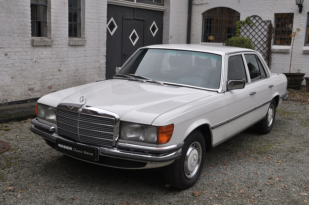mercedes benz 280 se w 116 classic sterne. Black Bedroom Furniture Sets. Home Design Ideas
