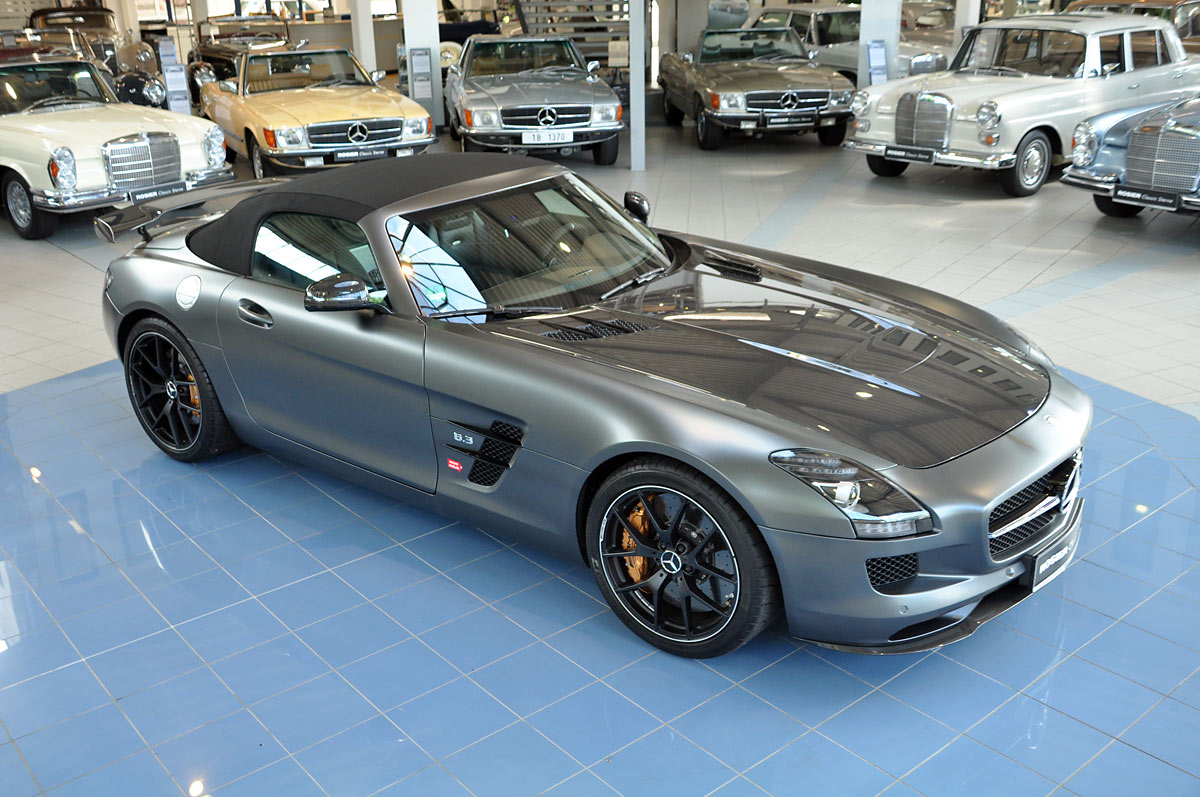 mercedes benz sls amg gt roadster final ed classic sterne. Black Bedroom Furniture Sets. Home Design Ideas
