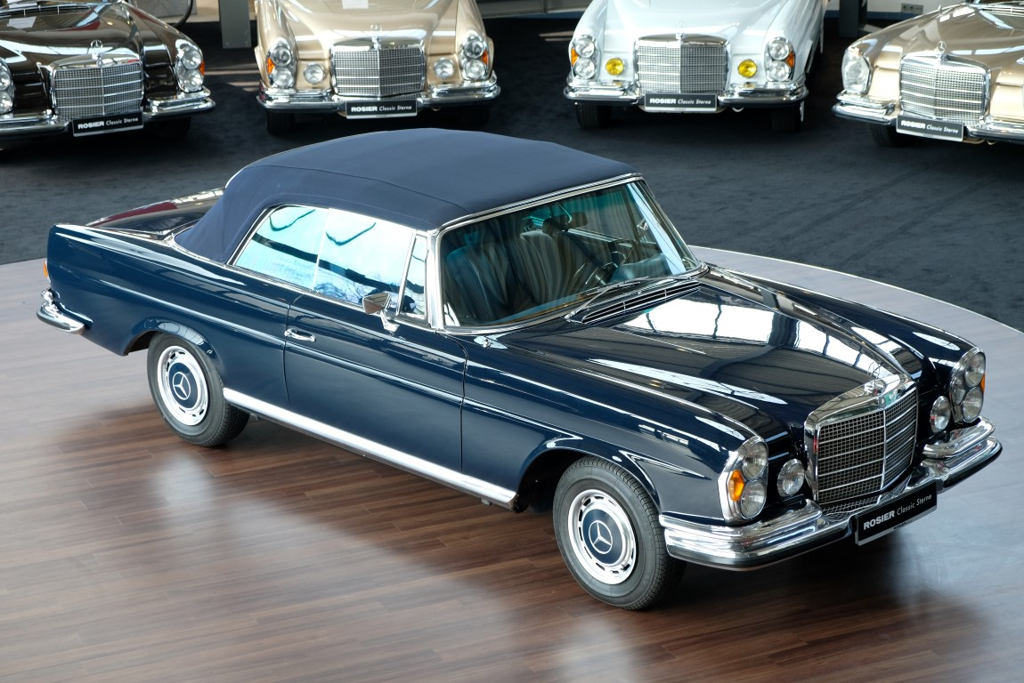 mercedes benz 280 se cabrio w111 classic sterne. Black Bedroom Furniture Sets. Home Design Ideas