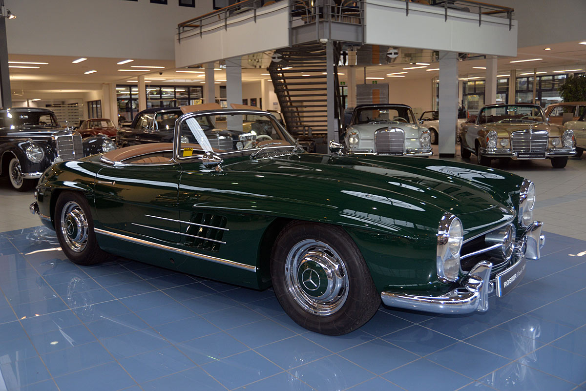 Mercedes benz 300 sl roadster w198 classic sterne for Mercedes benz 300 sl roadster