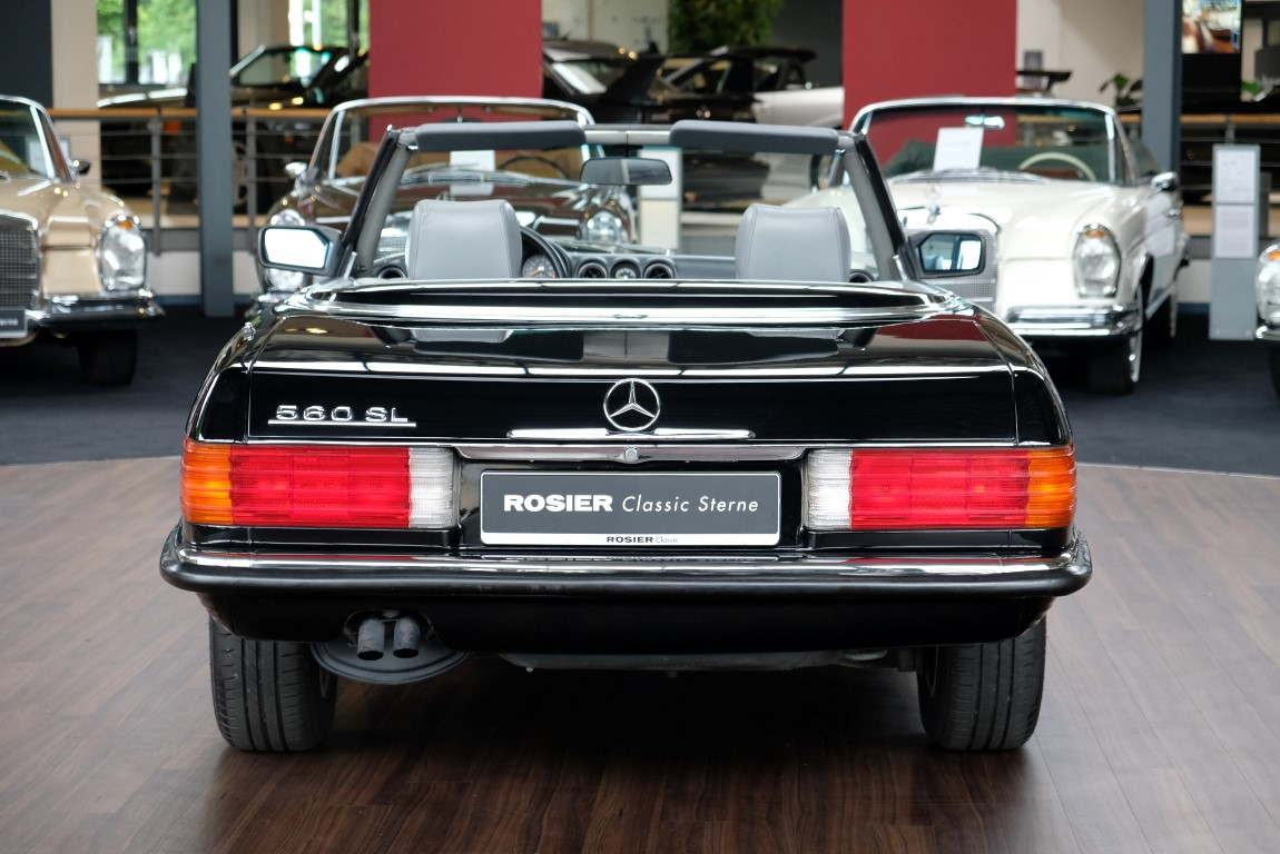 mercedes benz 560 sl r107 classic sterne. Black Bedroom Furniture Sets. Home Design Ideas