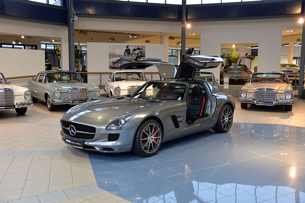 Mercedes benz sls amg gt coup classic sterne for Mercedes benz sls amg gt coupe