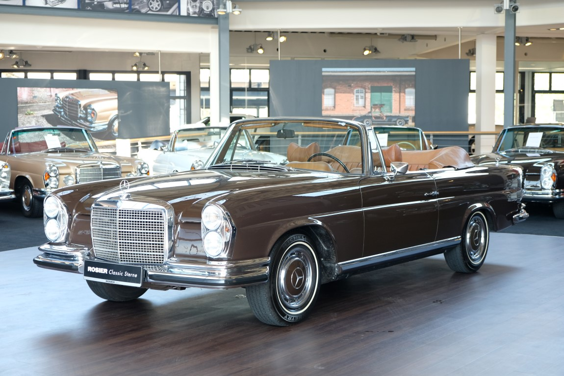 mercedes benz 280 se 3 5 cabrio w111 classic sterne. Black Bedroom Furniture Sets. Home Design Ideas