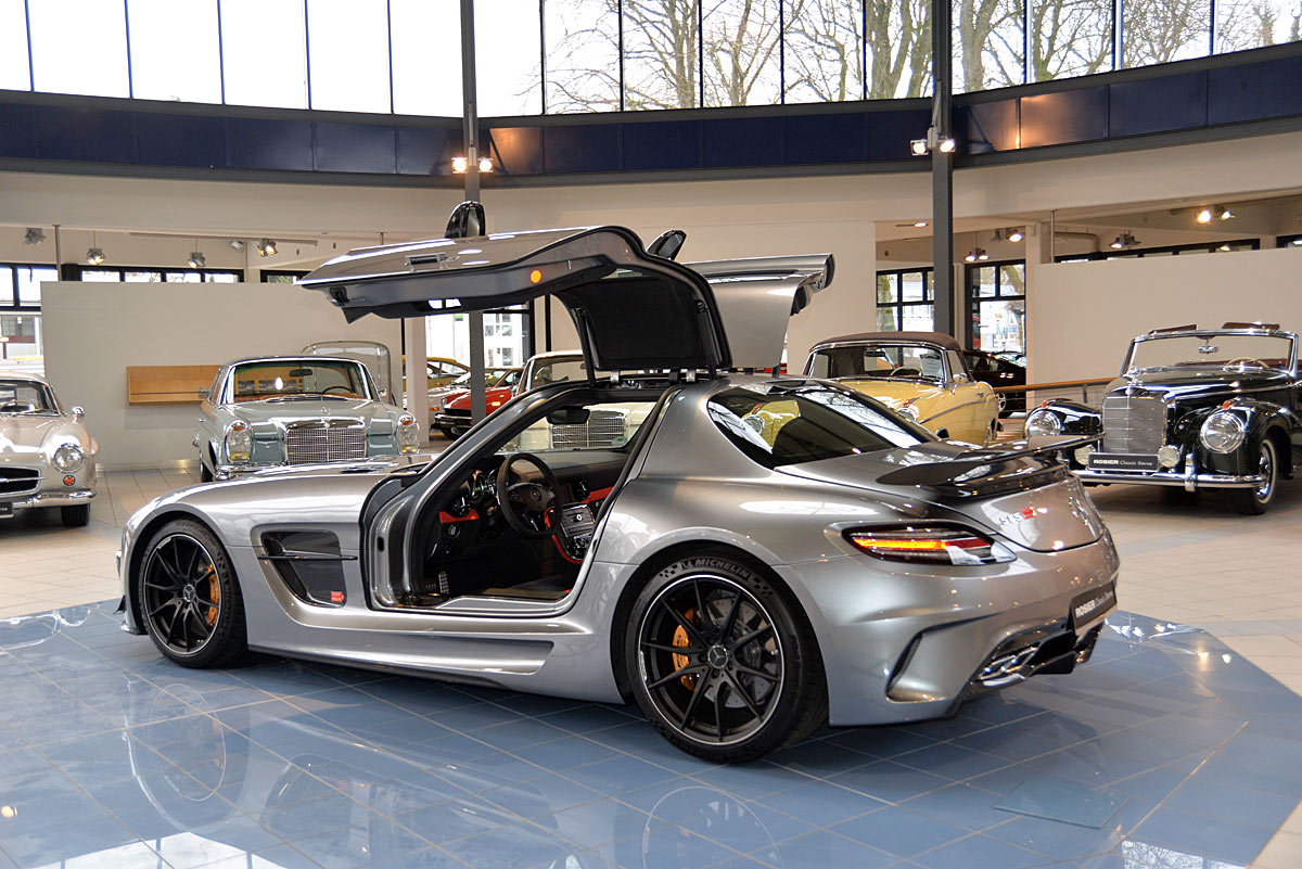 Mercedes Benz Sls Amg Black Series Coup 201 Classic Sterne