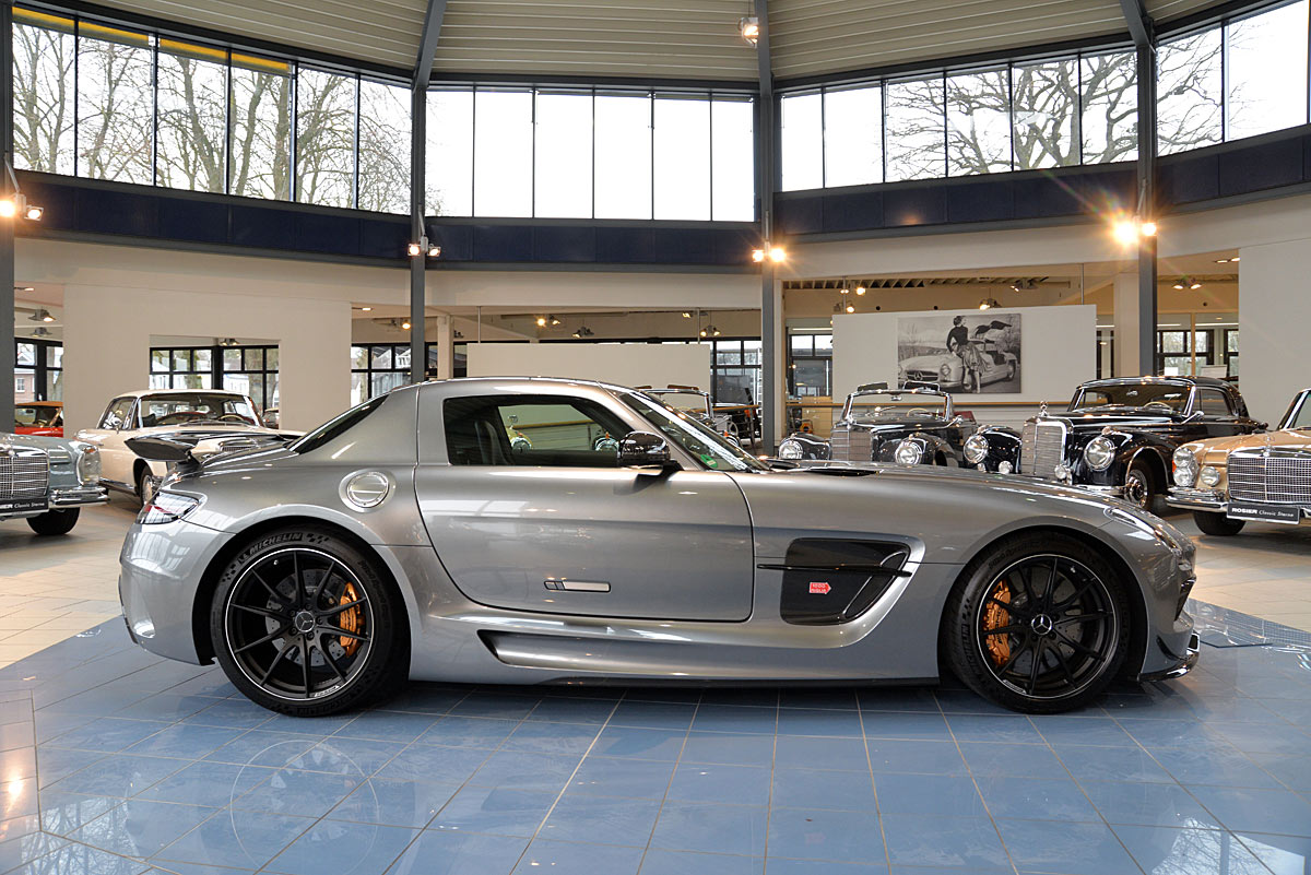 Mercedes benz sls amg black series coup classic sterne for Mercedes benz sls black series