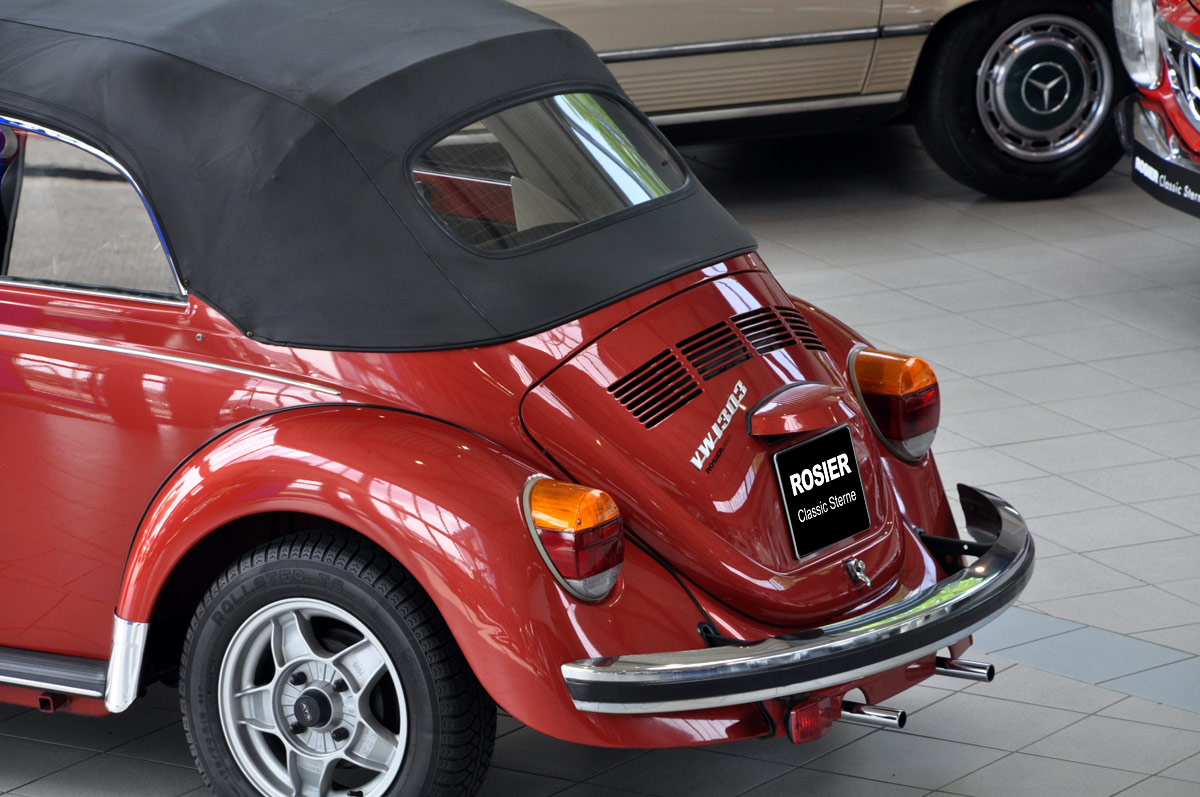 vw k fer 1303 ls cabriolet classic sterne. Black Bedroom Furniture Sets. Home Design Ideas