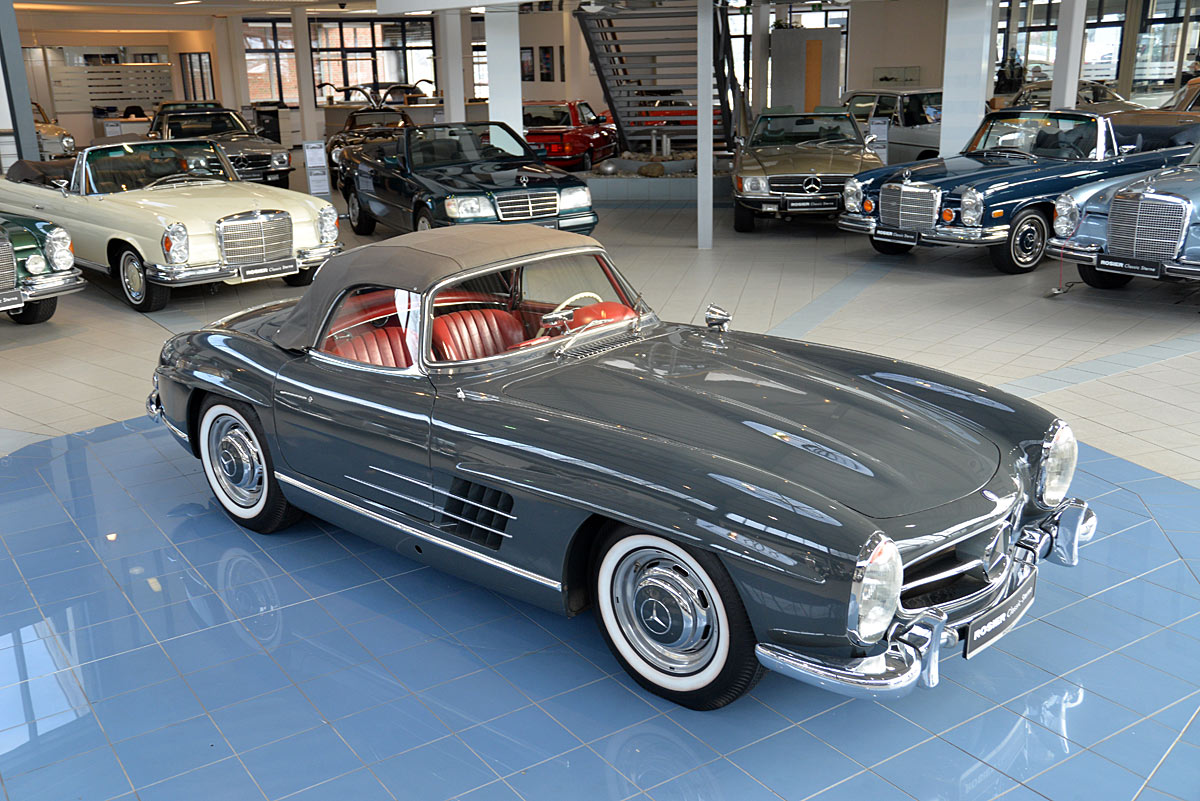Mercedes benz 300 sl roadster w 198 classic sterne for Mercedes benz 300 sl roadster