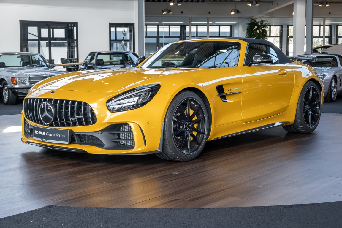 Mercedes Amg Gt R Roadster Classic Sterne
